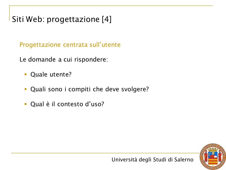 Siti Web: progettazione [4]